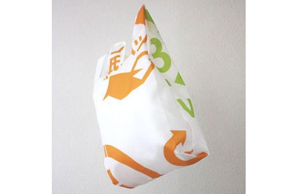 超かわいい!エコディアを使った「ReGI-BAG」(大友 学)は会場で販売も!(価格未定、個数限定)