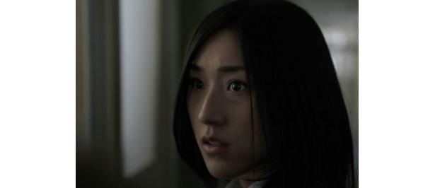 主人公の絵里役を演じたAKB48の松原夏海は映画初出演