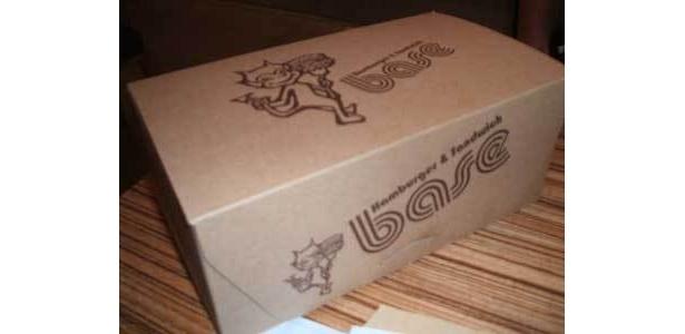 デリバリー用のカワイイ箱