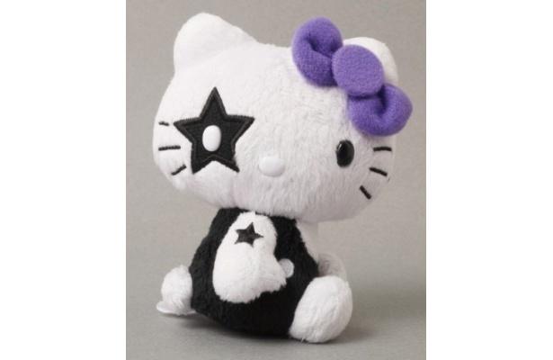 キティちゃんが地獄メイクに挑戦!KISS×HELLO KITTYマスコット THE STARCHILD