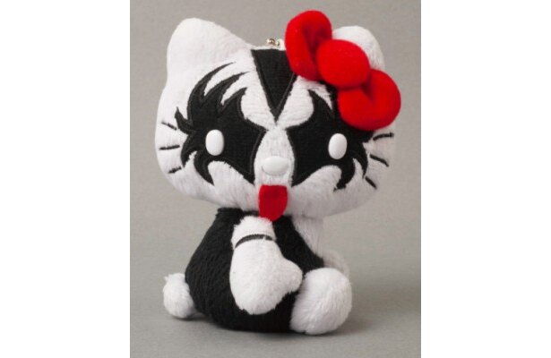 【写真を見る】コワカワメイクのキティちゃん!KISS×HELLO KITTYマスコット THE DEMON