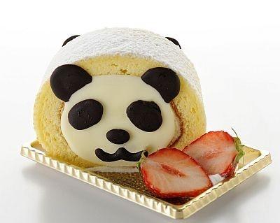 【写真を見る】パンダくんがロールケーキに!ほか動物たちのスイーツ&フードの画像特集!