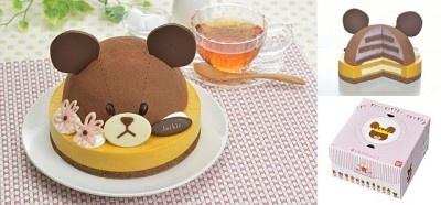 こんなキュートなケーキが出てきたらきっと子どもも大人も大はしゃぎ!