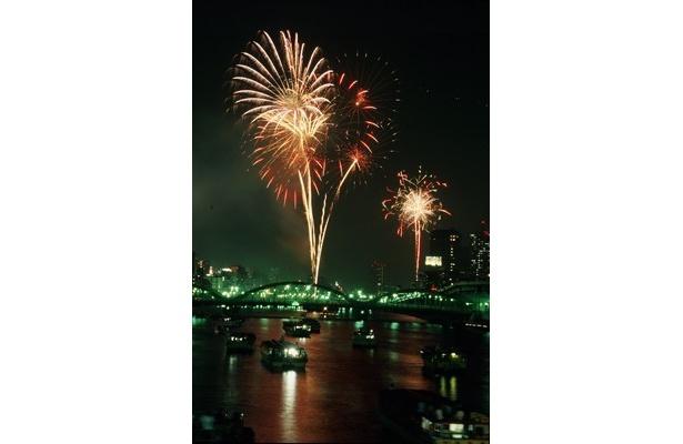 7月28日(土)19:05から開催予定で、約2万発が打ち上げられる