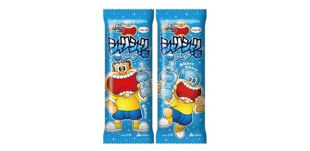 吸って食べるガリガリ君! 「シャリシャリ君ソーダ」(126円)