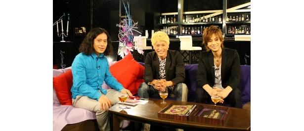 ゲストに佐藤隆太と三浦翔平が登場(写真中、右)