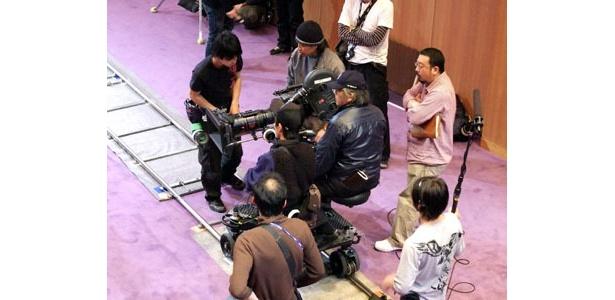 カメラワークひとつとっても、こだわりを見せていた中村義洋監督