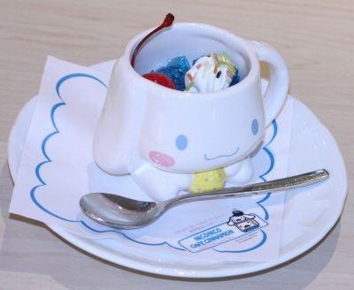 シナモンのカップデザート