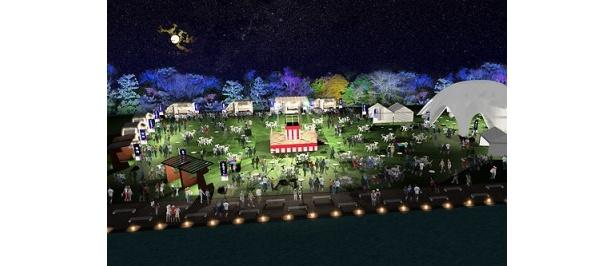 食べ放題ビュッフェや縁日コーナーなど面白コンテンツ満載の「大人の夏祭り」が開催