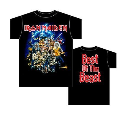 大御所Iron Maidenの「Best of the Beast」