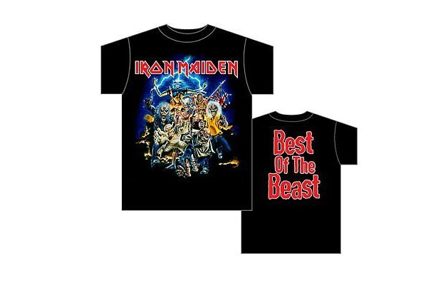 大御所Iron Maidenの「Best of the Beast」