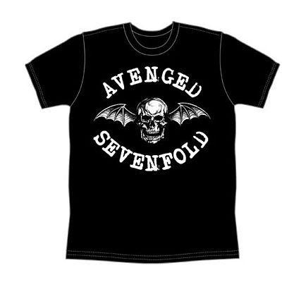 アメリカで勢いのあるバンドAvenged Sevenfoldの「Classic Deathbat」