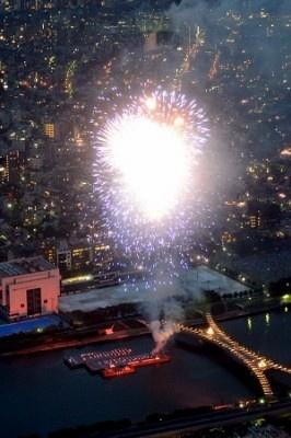 約2万発の花火に来場者も大興奮