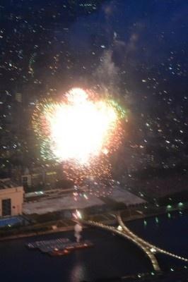来年はこちらの天望回廊で花火を鑑賞してみてはいかが?