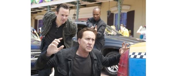 銀行強盗犯のウィルを演じるニコラス・ケイジ