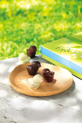 「ヴェールクレール コレクション」のひよこ型チョコレート