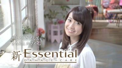 天使の輪が輝くさらさらストレートヘアの大島優子さん