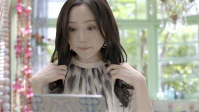 永作博美さんはヘアスタイルにお悩み中
