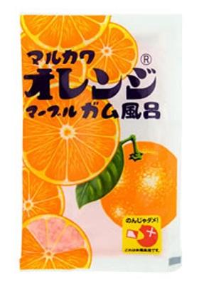 まんまるオレンジガムをお風呂で楽しむバスソルト!「オレンジガム風呂」 販売元/ローレル