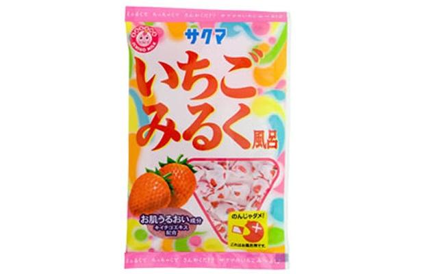いちごみるくの甘い香りが懐かしい!「いちごみるく風呂」 販売元/ローレル