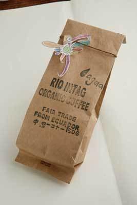 アースデイマーケットでは、エクアドルのフェアトレードコーヒーも(「Slow Water cafe」インタグコーヒー600円〜)