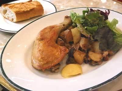 ランチは肉と魚から選べる(写真はイメージ)