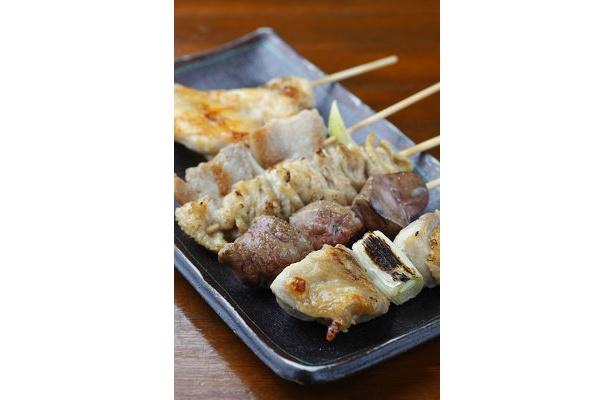 「50円焼とりきんちゃん家」焼鳥1本¥50
