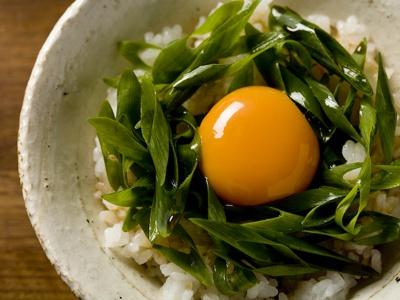 生卵の黄身がとろ〜り。胃にやさしい「ねぎたっぷりまんま」
