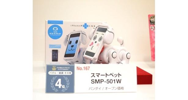 スマートペットは「プロが選んだイチオシのクリスマスおもちゃ2012」パズル・雑貨・その他部門で4位に
