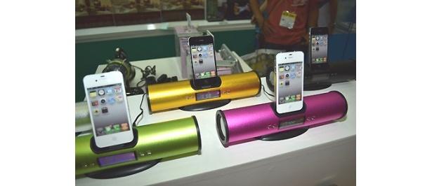 IKESHOのiPhone用スピーカー「サウンドバタフライ」