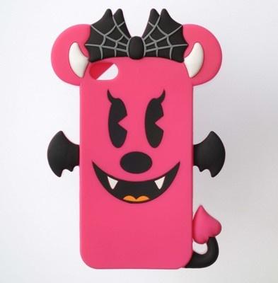 スマホがデビルミニーになっちゃう! iPhone4/iPhone4Sに対応。縦約14×横約10×厚さ約1.5cm
