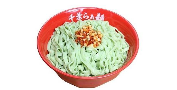 パスタ風グリーン麺