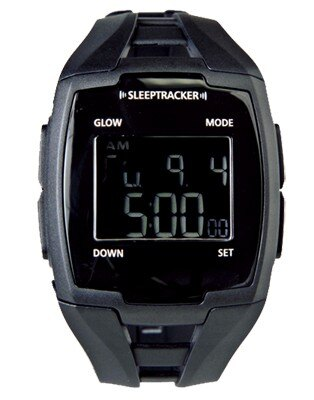 睡眠サイクルを記憶。浅い眠りをキャッチし、起きやすいタイミングでアラームが鳴る。腕時計タイプ。メンズL14~21cm