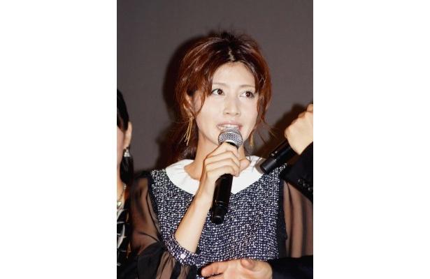 「13年前に関わらせてもらった時は、まさかファイナルでここに立ってることができるとは思ってませんでした」と語る内田有紀