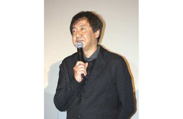 脚本を担当した君塚良一氏は「これから辛いこととか悲しいことがありましたら、青島刑事のことを思い出してください」とあいさつ
