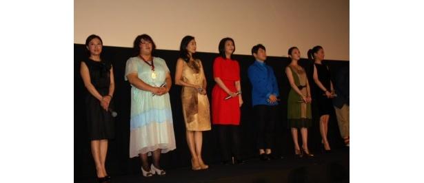 【写真を見る】百花繚乱!松たか子、田中麗奈たち女優陣の全身ショットはこちら