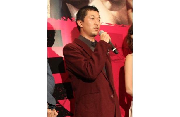 「すごい自信がある作品」と胸を張った新井浩文