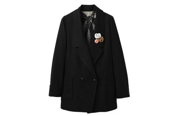 トリンドルさん着用のロング テイラード ジャケット5995円