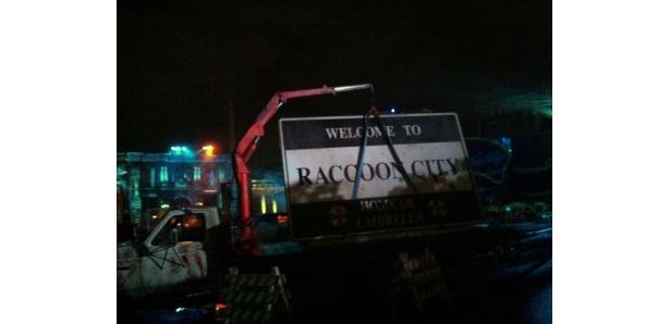 バイオハザードでおなじみの「ラクーンシティ」がパークに出現!