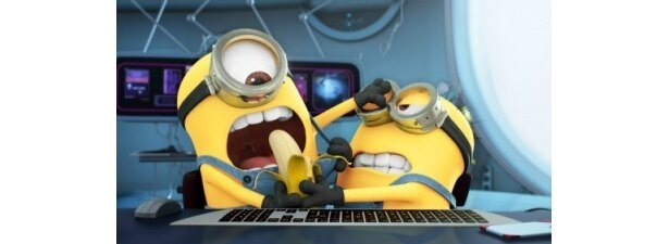 同時上映される短編「ミニオンのバナナ争奪ゲーム!」