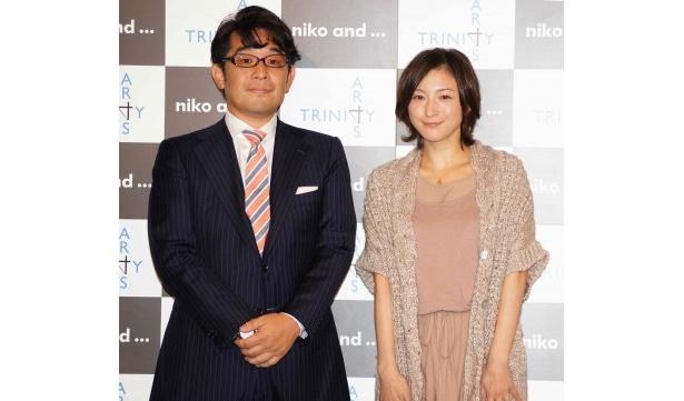 トリニティアーツ代表取締役・木村治氏と広末(写真左から)