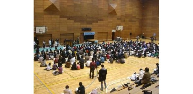 会場に集まった市民参加者