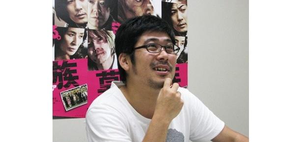 劇中の音楽について語る熊切和嘉監督