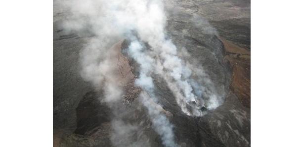 こちらはハワイの活火山