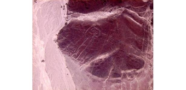 世界的に有名なナスカの地上絵
