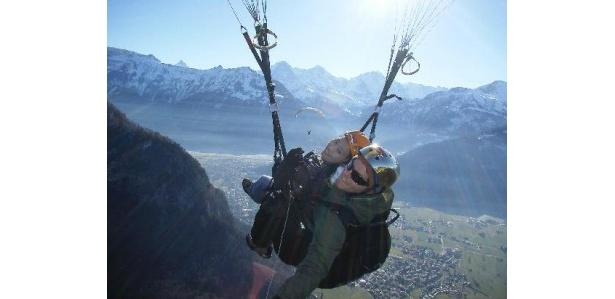 観光地としても人気のベルン高地(スイス)