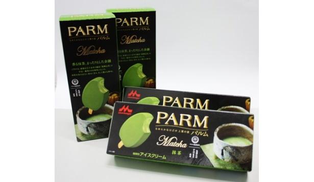 """なめらかで濃厚!PARMの新作""""抹茶""""味"""