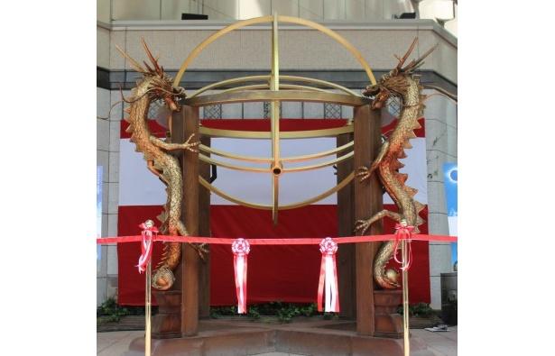 """本日限定で公開された江戸時代の天体観測器具""""大渾天儀(だいこんてんぎ)"""""""