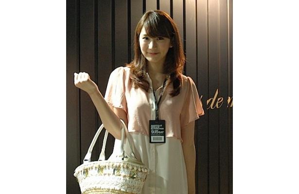 お姉さん系スタイルのなぎさんは、東京から参加