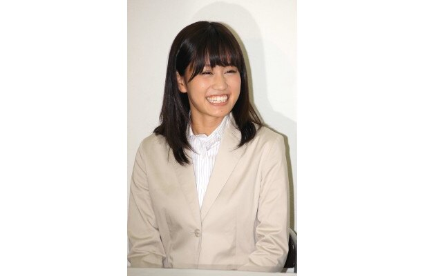 制作発表に登場した前田敦子
